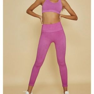 Bandier TLA by Morgan Stewart Orchid Legging